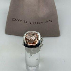 David Yurman 14mm Morganite Albion ring